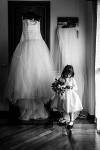 Abito e Futura sposa - Attese in Bianco e Nero