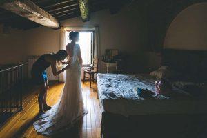 Grazie all'amica della sposa