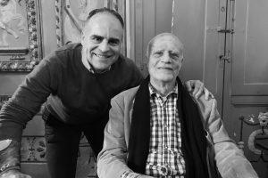 Io e Ferdinando Scianna